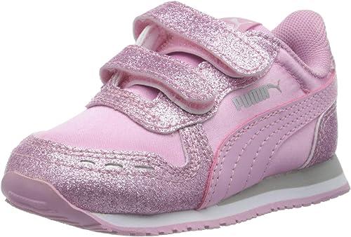 PUMA Baby Mädchen Cabana Racer Glitz V Inf Sneaker: Amazon