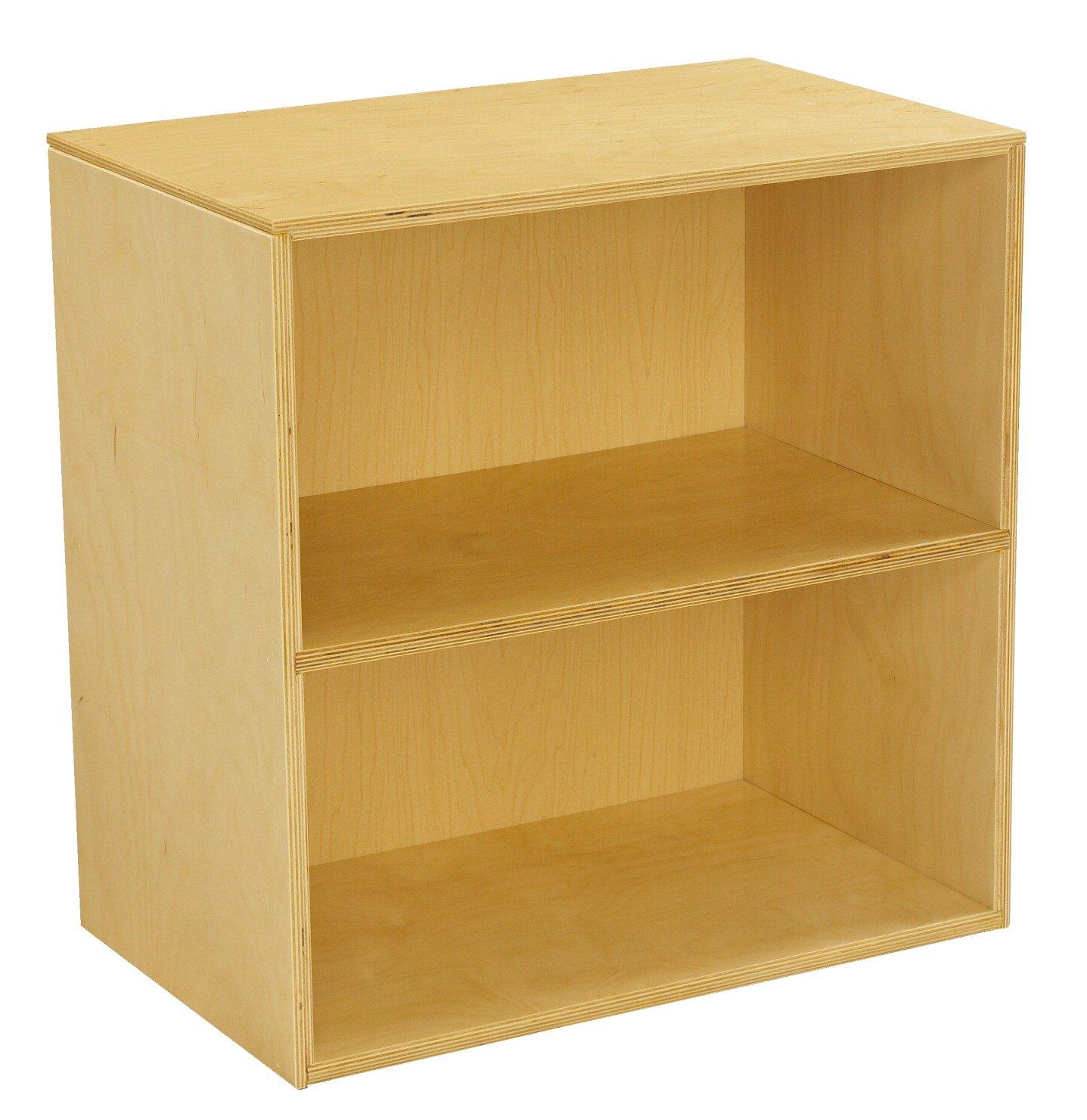 Childcraft Narrow Storage Unit, 23-3/4 W x 14-3/4 D x 24 H in