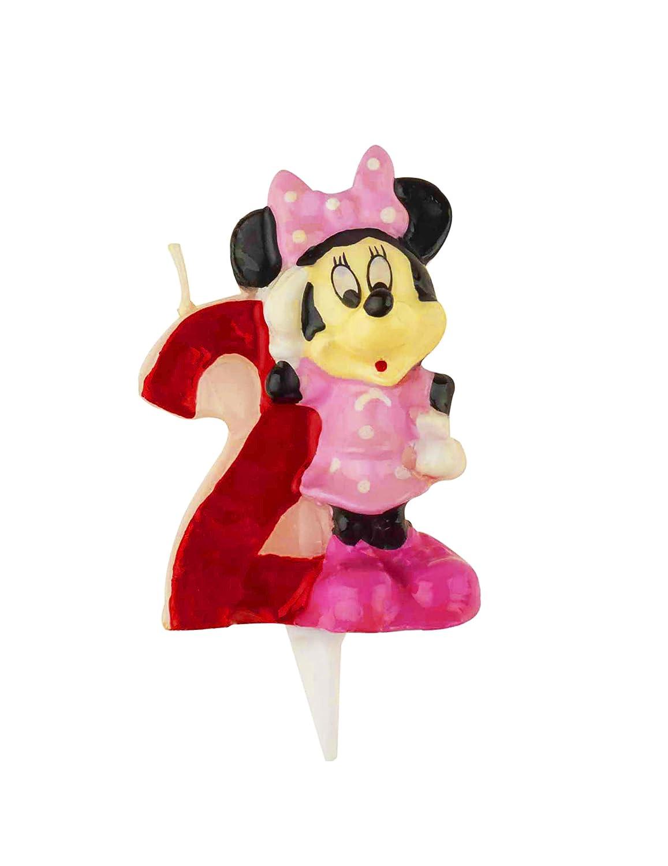 Generique Zahl 2 Minnie Mouse Kerze