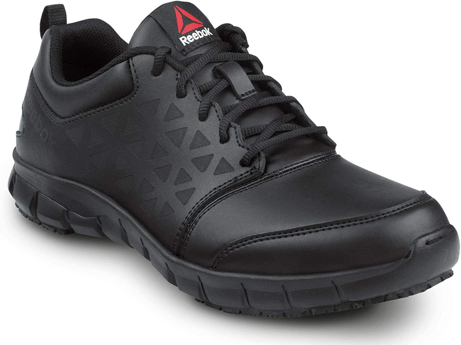 Amazon.com: Reebok Work Sublite Cushion Work, Black, Men's, Athletic Style  Slip Resistant Composite Toe, EH, Work Shoe: Shoes