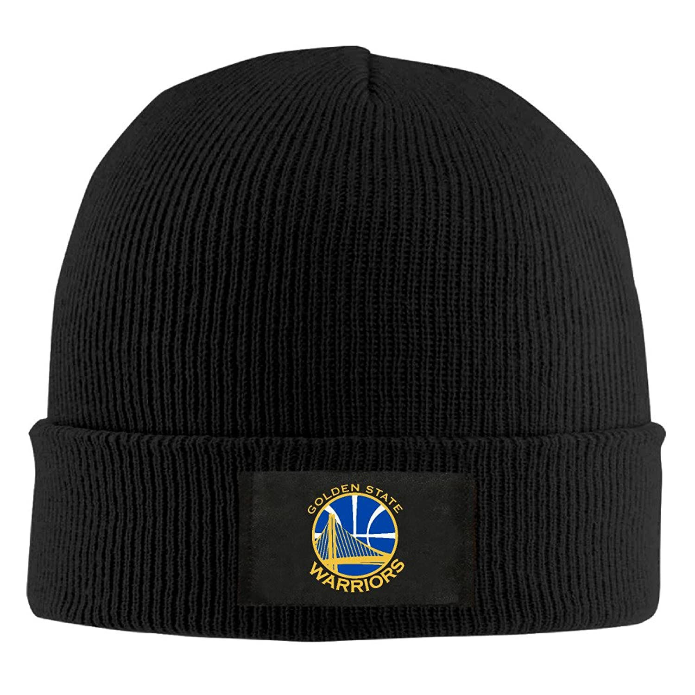 YFLLAY Golden State Basketball Team Knit Cap Woolen Hat For Unisex