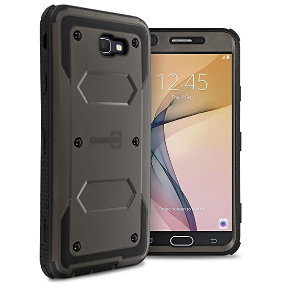new concept 8e858 59b7d Amazon.com: Galaxy On7 2016 Case, Galaxy On NXT Case, CoverON [Tank ...