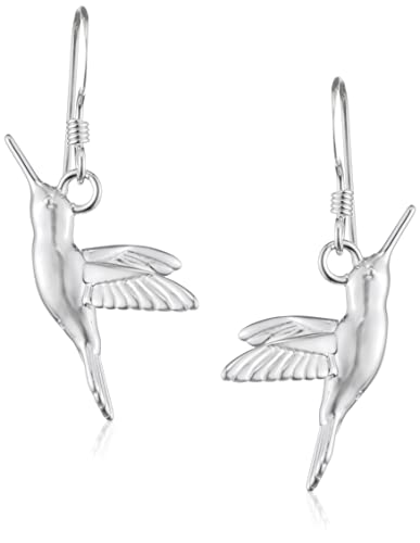 Elements Silver Hummingbird Sterling Silver Earrings VjCmYmqx