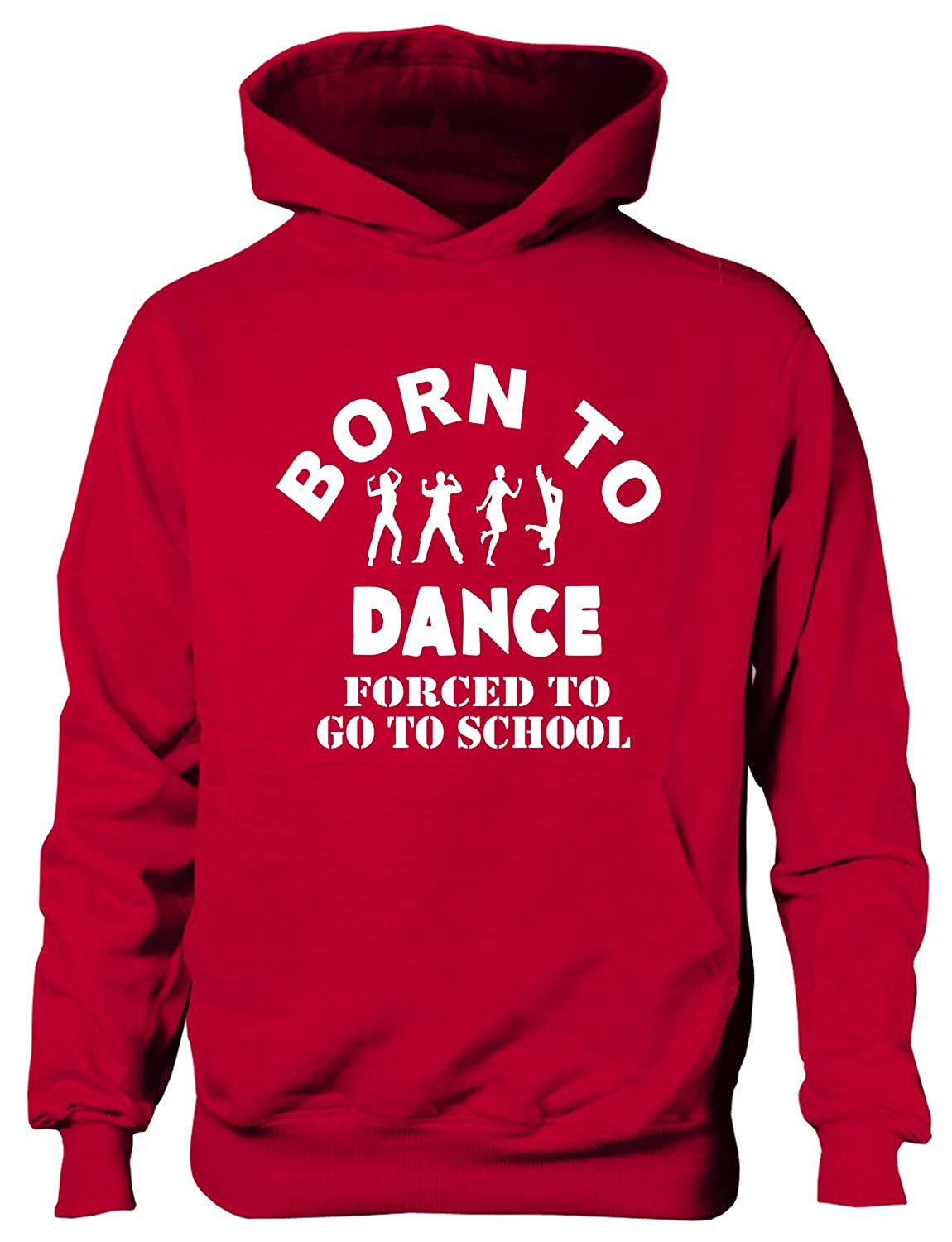 Print4u Born To Dance Boys Girls HoodieAge 5-13 Years