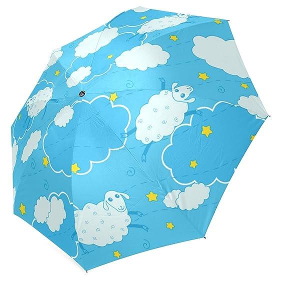Amazon Interestprint Blue Sky Sheep Clouds Weather Symbols
