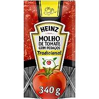 Molho Tradicional Heinz Sache 340G