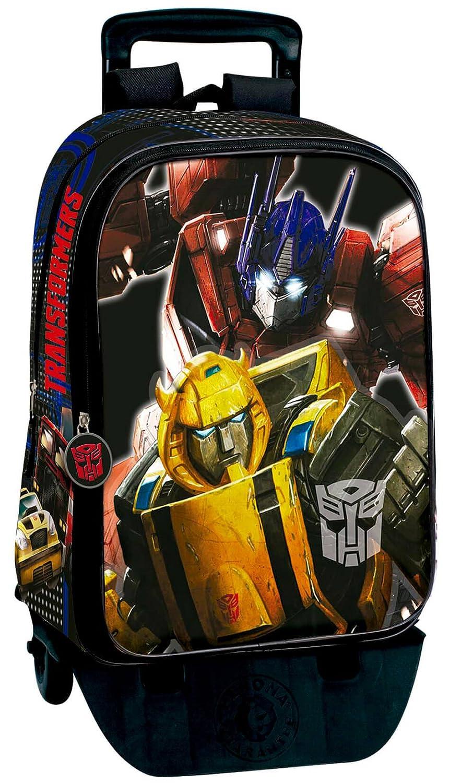 Transformers Mochila con Carro Plegable, Ruedas, Trolley: Amazon.es: Equipaje