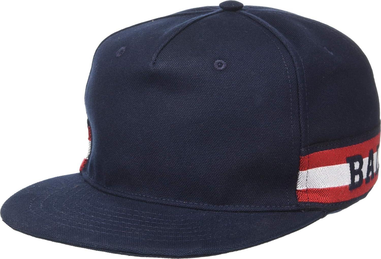 56 BALLY Mens Trainspotting Baseball Cap Navy XS