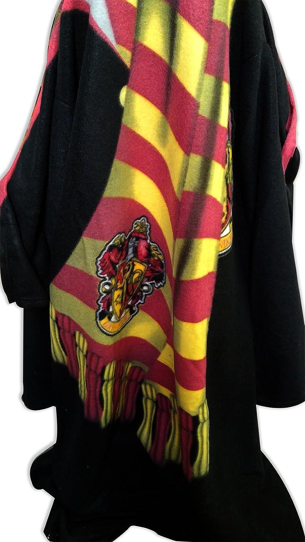 Harry Potter (Winter Look) Micro Raschel Comfy Throw Blanket with Sleeves Northwest HP51418