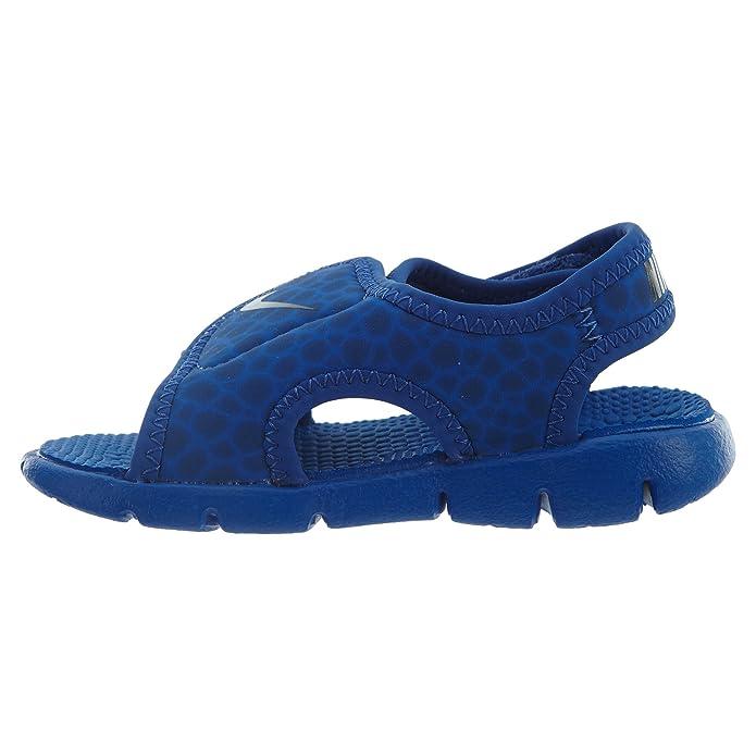hot sales 9a354 29b6c NIKE Kindersandale Sunray Adjust 4, Sandalia con Pulsera Unisex Niños   Amazon.es  Zapatos y complementos
