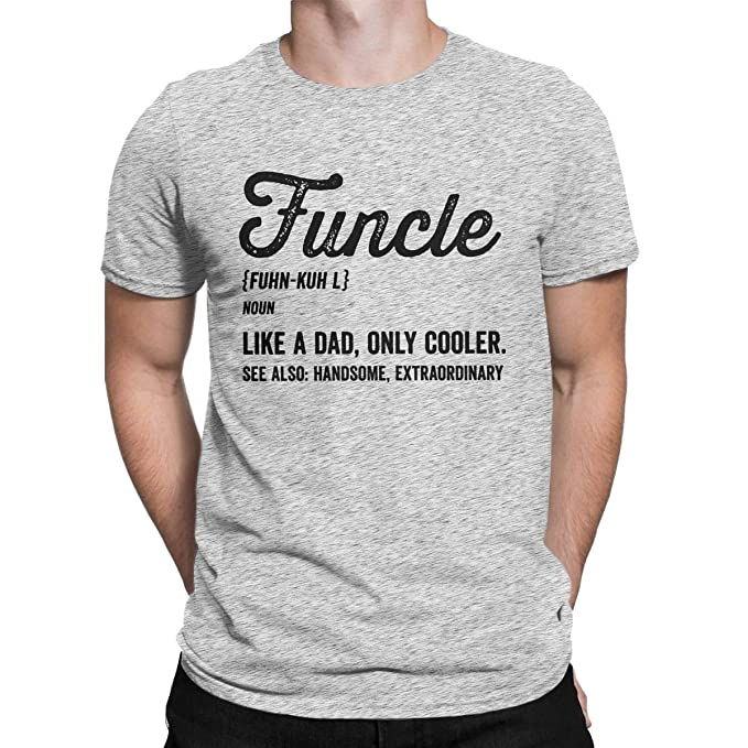 6e7f38c8 VERENIX PRINTER77 Funcle Fun Uncle Definition Funny T-Shirt Like A ...