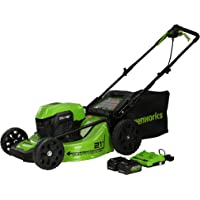 Deals on Greenworks 2 x 24V (48V) 21 inch Brushless Mower MO48L520