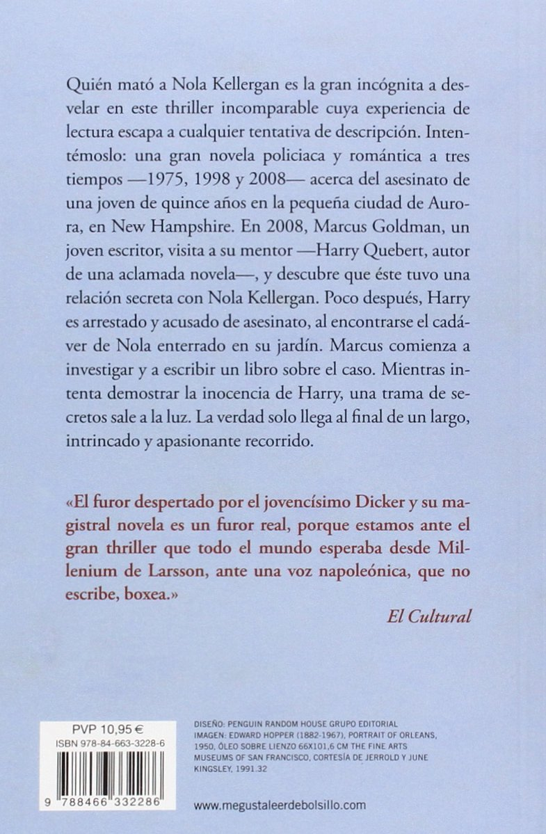La verdad sobre el caso Harry Quebert (Best Seller): Amazon.es ...