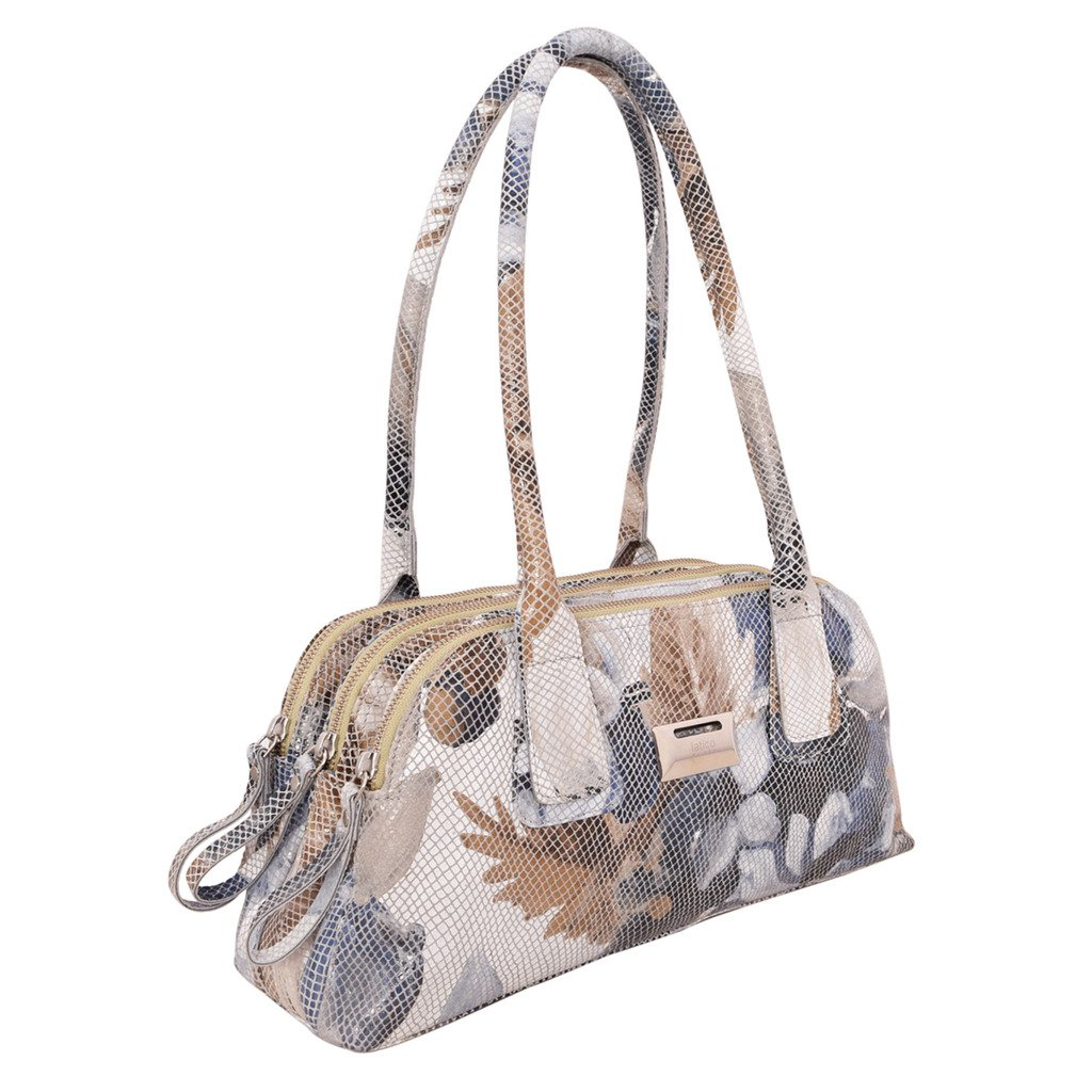 Latico Leathers Louise Shoulder Bag Genuine Authentic Luxury Leather, Designer Made, Business Fashion and Casual Wear, Lagoon