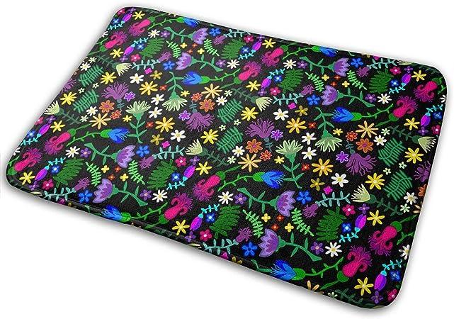 """Imagen deBLSYP Felpudo Recognizable Flowerbed Pattern Doormat Anti-Slip House Garden Gate Carpet Door Mat Floor Pads 15.8"""" X 23.6"""""""