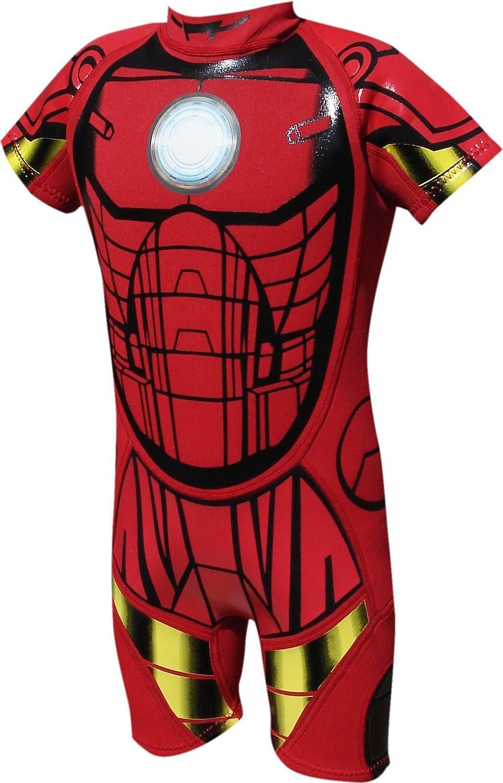 Marvel - Traje de neopreno infantil, diseño de Iron Man rojo ...