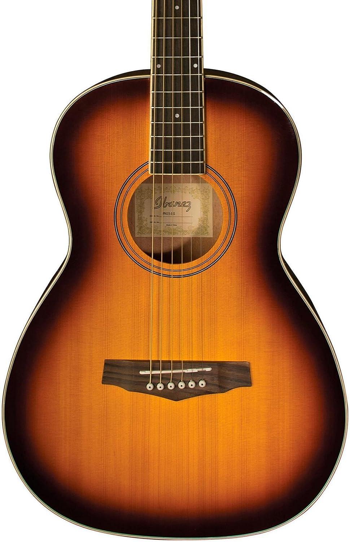 Ibanez PN15 Parlor Size Acoustic Guitar Brown Sunburst PN15BS