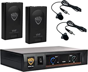Nady DKW DUO LT/O/P/R VHF Dual Receiver Lavaliere Microphone System