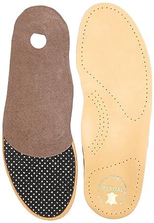 Bergal Ortho Comfort Orthopädische Einlagen mit echtem Leder  Amazon ... c776946203