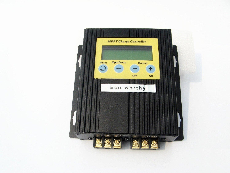 ECO-WORTHY 液晶ソーラーパネル充電コントローラレギュレータ20A 12V/24V MPPT B015DJWPZ0