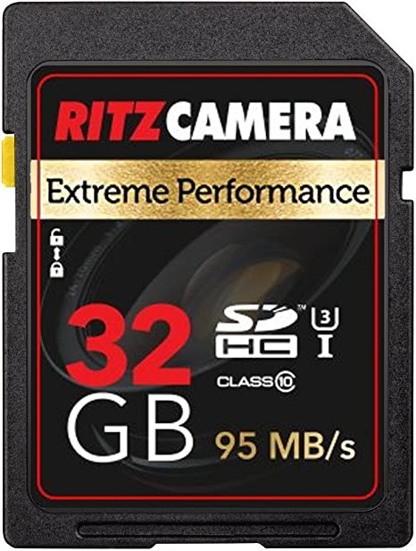 Amazon.com: Ritz Gear Extreme Performance SD 32 GB 95/45 MB ...