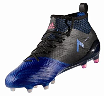 27be2b11576e59 Adidas Fussballschuhe Nocken Ace 17.1 Primeknit FG Herren schwarz blau weiß