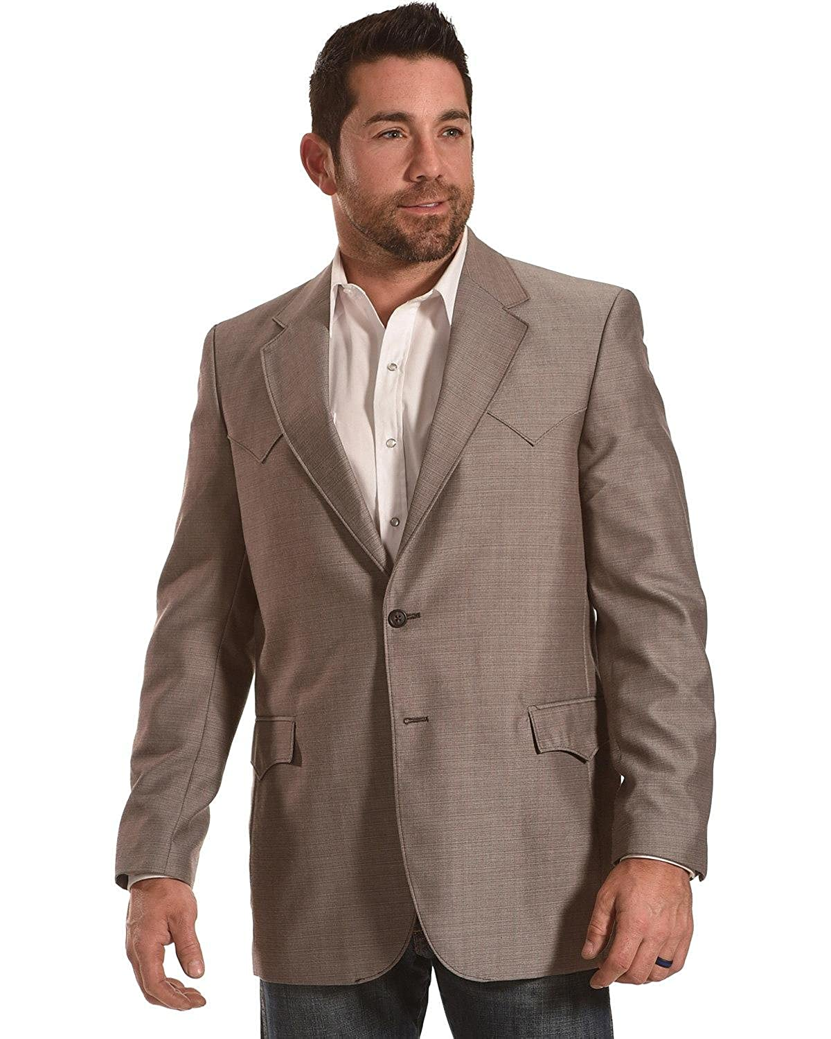 Circle S Men's Plano Nutmeg Sport Coat Big Tall - Cc1046-06-B&T 2000234748