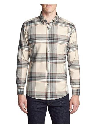 9eca2796f777 Eddie Bauer Men s Eddie s Favorite Flannel Slim Fit Shirt at Amazon Men s  Clothing store