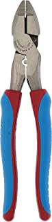 product image for Channellock 369CRFTCB 9.5-Inch Lineman Plier Hi-Leverage with Code Blue Comfort Grips