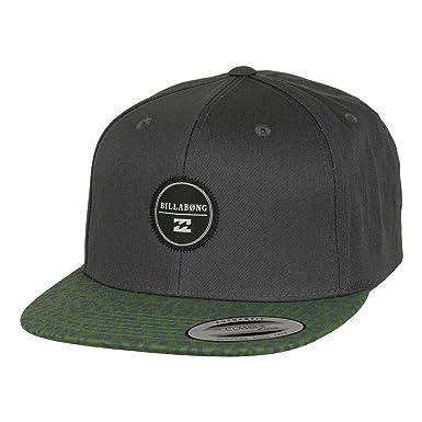 Billabong - Gorra de béisbol - para hombre gris verde y gris ...