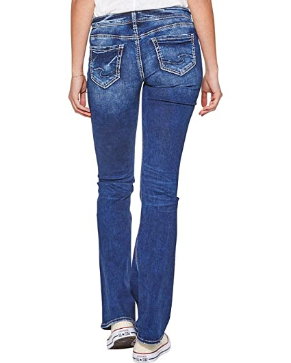85d47337807 Amazon.com: Silver Jeans Co. Women's Tuesday Low Rise Bootcut Jeans:  Clothing