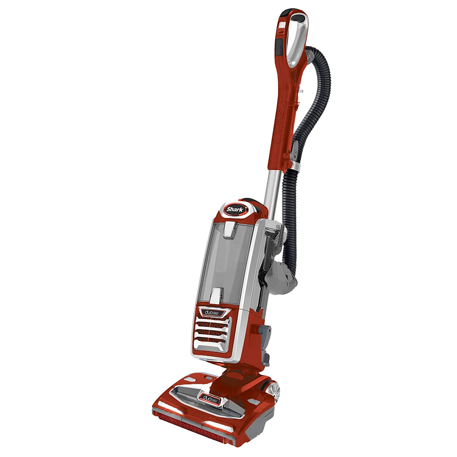 Shark DuoClean Powered Lift Away Speed Vacuum, Red (Renewed)