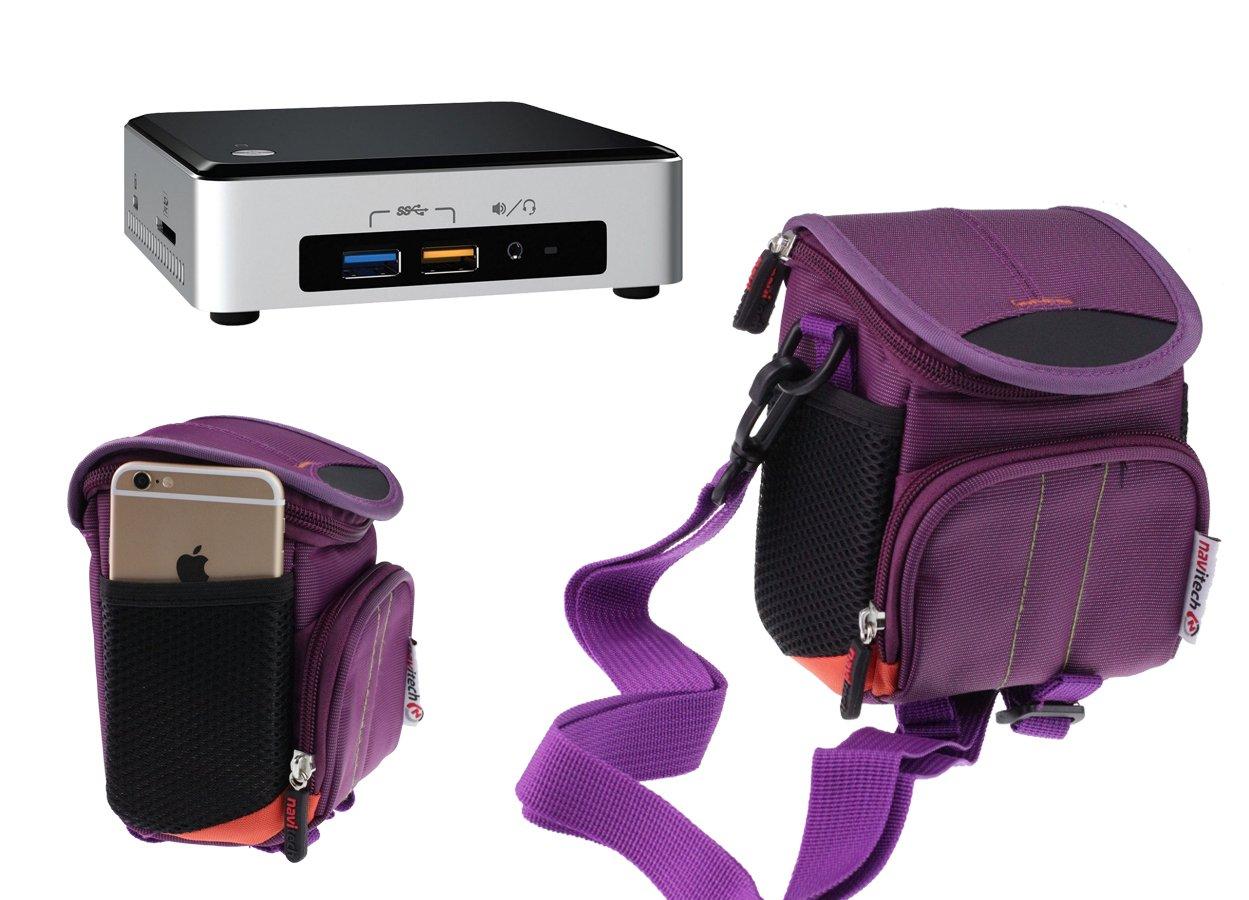 917c6bfa45bd Navitech Purple Mini PC Case / Bag For The No1seller Windows 10 ...