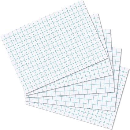 1000 Karteikarten weiß weiss DIN A8 liniert Lernkarten 140 g//m²