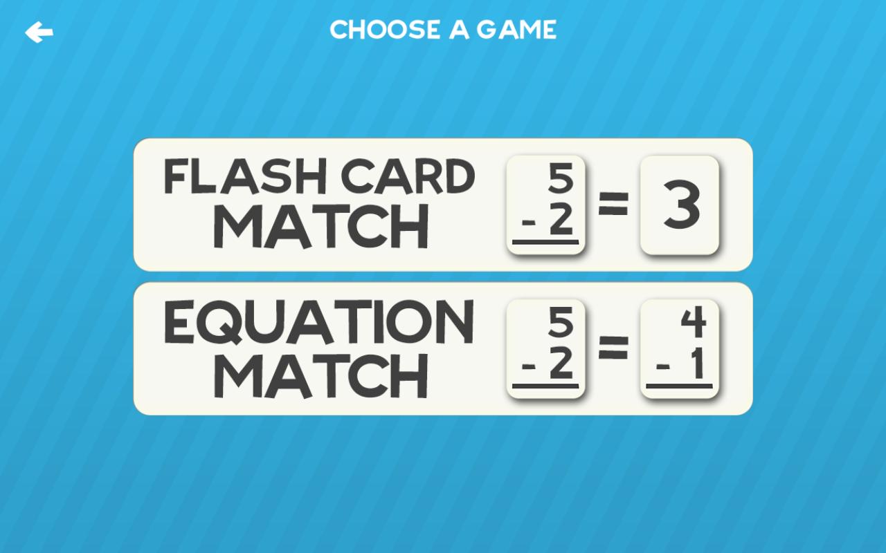Amazon.com: Math Flashcard Match Games for Kids in Elementary School ...