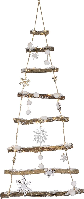KSD Weihnachtsbaum 90 LED Birke Christbaum Fensterdeko T/ürdeko Advent Weihnachten