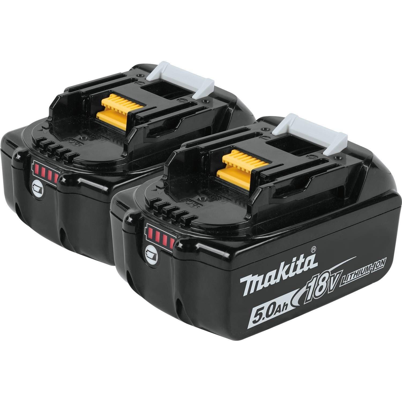 Makita BL1850B-2 18V LXT Lithium-Ion 5.0Ah Battery Twin Pack by Makita