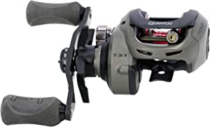 Quantum Tour S3 PT Baitcast Fishing Reel, 10+1 Bearings, 7.3:1 Gear Ratio, Right Hand, Size 100