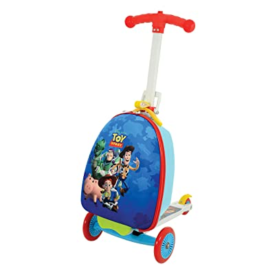 Disney Toy Story M004058 Scootin Suitcase, Blue: Toys & Games
