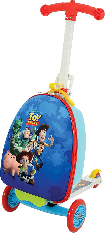 Disney Toy Story M004058 - Maleta de Scootin, Color Azul