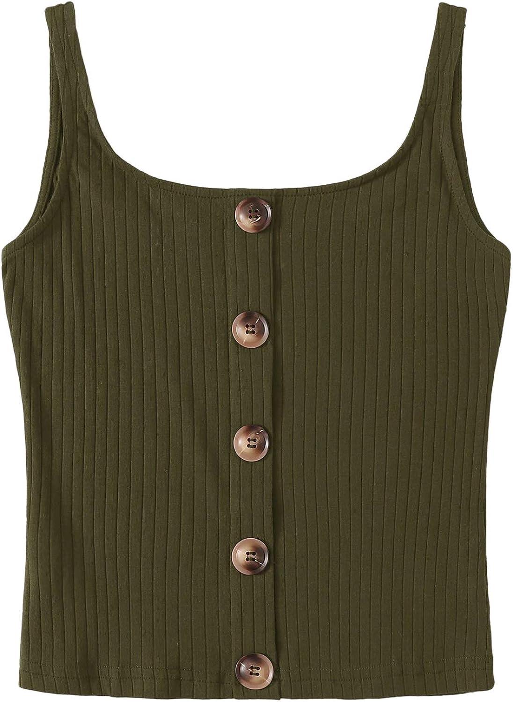 Daorokanduhp Women Blouse Womens Casual Tank Tops Sleeveless Henley Shirts Ribbed Long Tunic Tees Fashion Loose Summer Vest