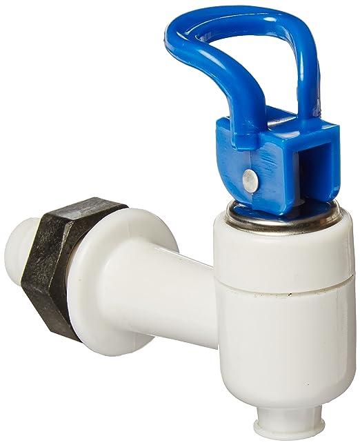 Tipo Push enfriador para botellas de bebida dispensador de agua 15 mm diámetro de rosca azul y blanco