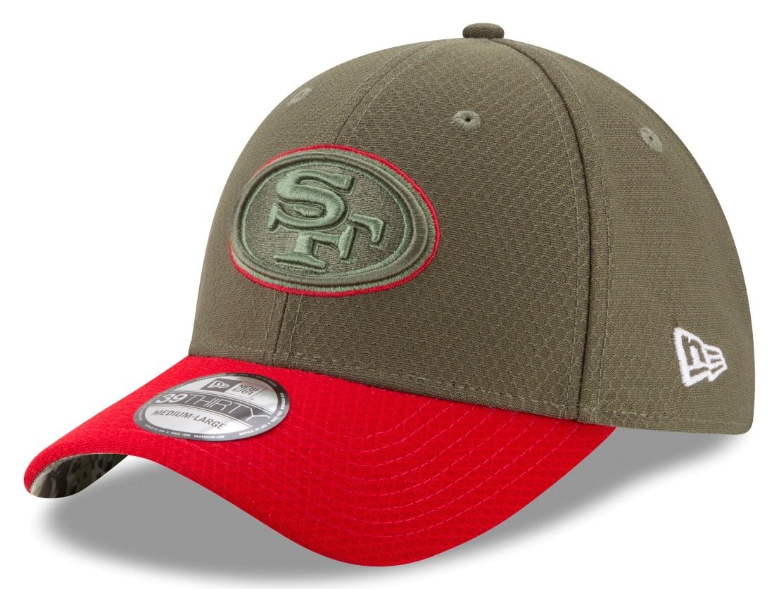 cheap for discount 4135a 7c200 Amazon.com   San Francisco 49ers New Era NFL 39THIRTY 2017 Sideline