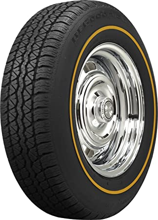 coker tire bf goodrich silvertown radial goldline 20575r15
