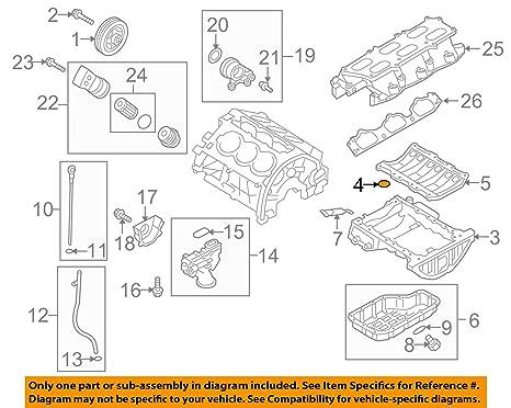 Surprising Amazon Com Hyundai Oem 10 12 Genesis Coupe 3 8L V6 Engine Upper Oil Wiring Cloud Planhouseofspiritnl