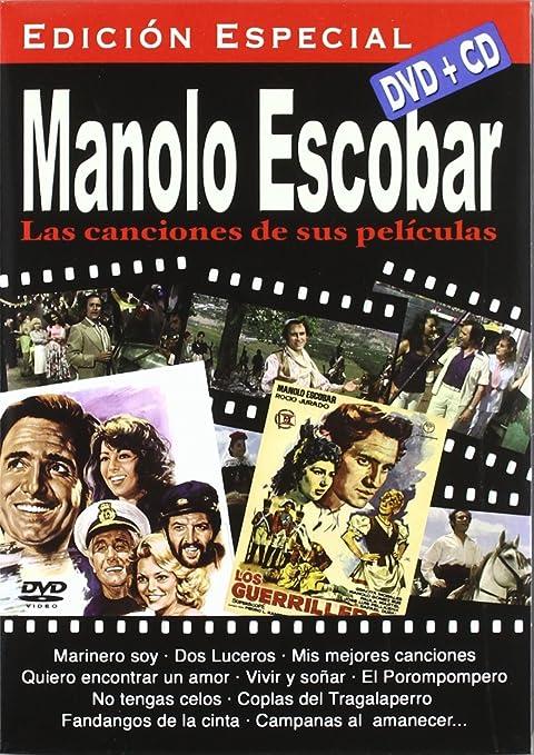 Manolo Escobar Las Canciones De Sus Pelìculas Dvd Cd Non Usa Format Movies Tv