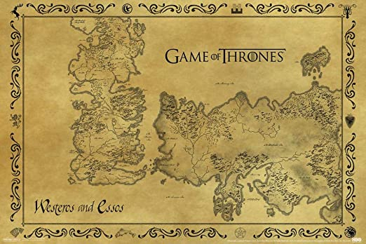 GAME OF THRONES POSTER  WALL ART TV SERIES IMAGE HUGE LARGE