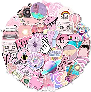 VSCO Stickers for Water Bottles Laptop Stickers 103Ppacks Cute Stickers for Girls Teenagers Waterproof,Aesthetic,Trendy,Vinyl Stickers for Hydro Flask