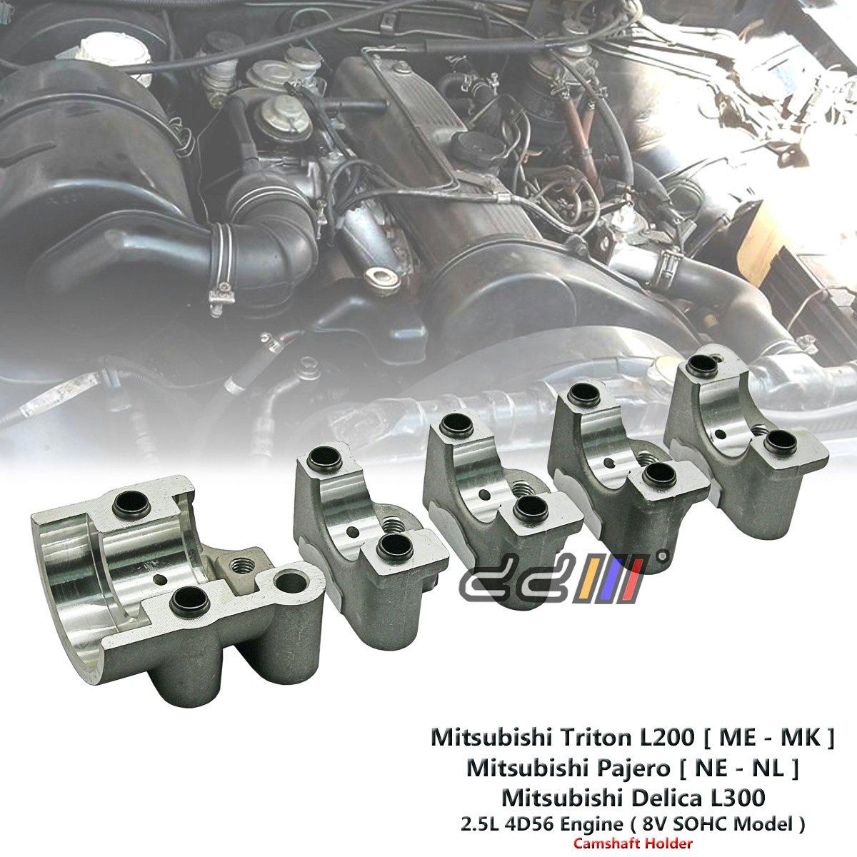 1 Set Camshaft Holder For Mitsubishi Triton MG MH MJ MK 2.5L 4D56 SOHC 1986-05