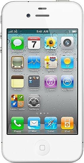 APPLE iPhone 4 Smartphone (Pantalla de 8,9 cm (3,5 Pulgadas ...
